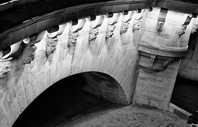 River Seine Bridge Art Print by Tony Grider