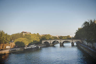 Photograph - River Seine by Ivy Ho