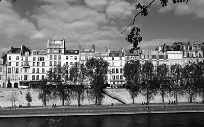 Photograph - River Seine Paris 2 by Andrew Fare