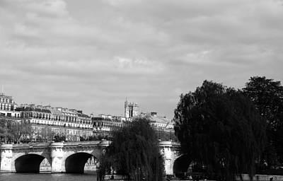 Photograph - River Seine Paris 5 by Andrew Fare