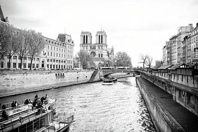 Photograph - River Seine, Paris by Jean Gill