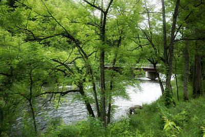 Photograph - River Series Y5358 by Carlos Diaz