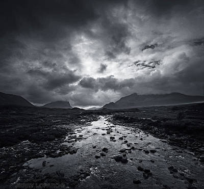 Scotland Wall Art - Photograph - River Sligachan by Jerry LoFaro