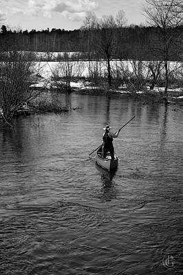 Photograph - River Solitude by Patrick Groleau
