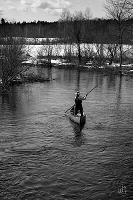 Photograph - River Solitude by Patrick Groleau