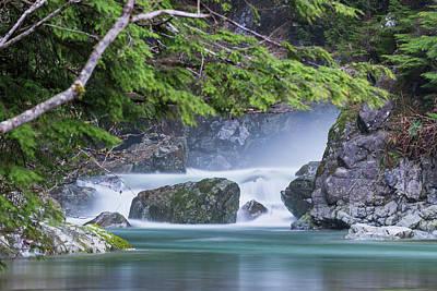 Photograph - River Spray by Jaden Nyberg
