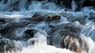 Photograph - River Streams Color Great Basin National Park Nevada by Lawrence S Richardson Jr