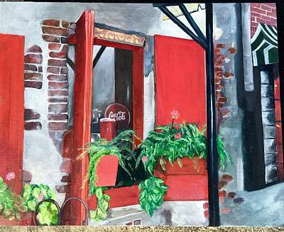 Painting - River Street by Gwendolyn Frazier