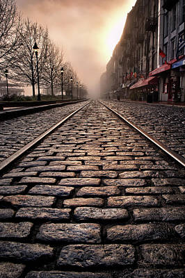 Photograph - River Street Railway by Renee Sullivan