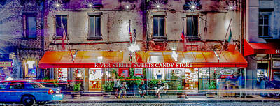 Photograph - River Street Sweets Candy Store Savannah Georgia   by Alex Grichenko