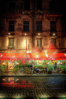 Photograph - River Street Sweets by Mark Andrew Thomas