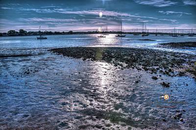 Photograph - River Sunrise by Joedes Photography