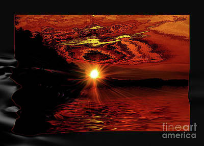 Photograph - River Sunset by Elaine Hunter