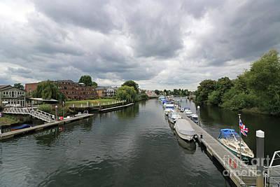 Photograph - River Thames At Teddington London by Julia Gavin