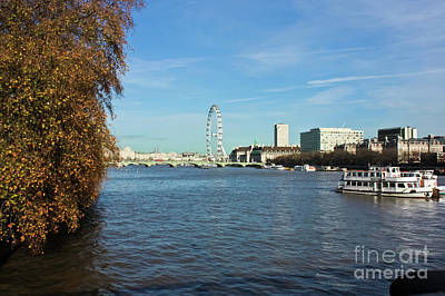 River Thames London Art Print by Terri Waters