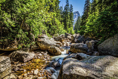 Suggestive Photograph - River Through Rocks by Mirko Chianucci