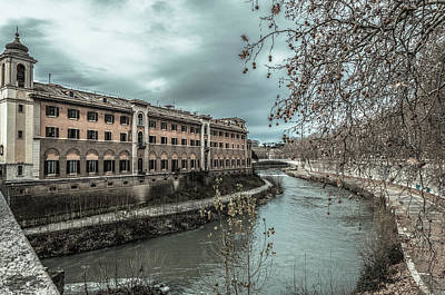 Photograph - River Tiber by Sergey Simanovsky