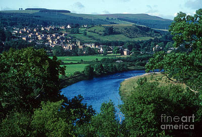 Photograph - River Tweed And Melrose by Phil Banks