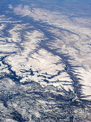 Photograph - River Valley Aerial by Carol Groenen