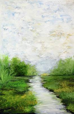 Painting - River Valley by Cheryl Green