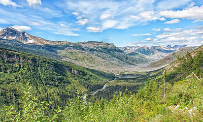 Photograph - River Valley by John M Bailey