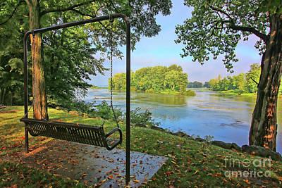 Photograph - River View 4136 by Jack Schultz