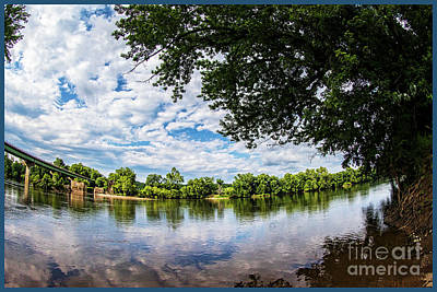 Photograph - River View At Cartersville 1878ta by Doug Berry