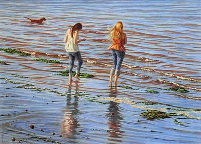 River Waders Original by Barry DeBaun