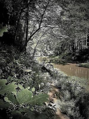 Photograph - River Walk by Gary Edward Jennings