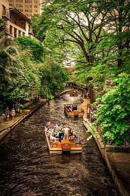 Canal Walk Photograph - River Walk  by Art Spectrum