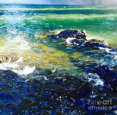 Photograph - River Water by Vanessa Palomino