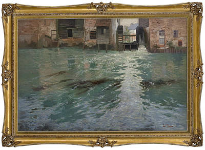 River With Fish Art Print