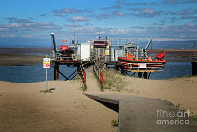 Photograph - River Wyre Launching Facility - Fleetwood - England by Doc Braham