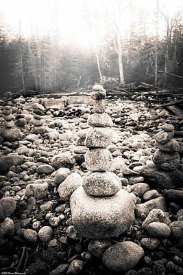 Photograph - River Zen 2 by Debra Forand