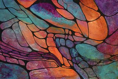 Painting - Riverbed by Nancy Jolley