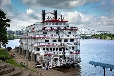 Photograph - Riverboat by Jack R Perry