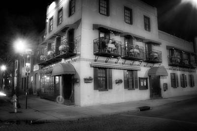 People Photograph - Riverboat Landing On Market Street In Black And White by Greg Mimbs