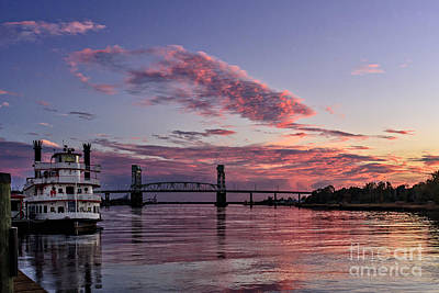 Cape Fear Riverboat Art Print
