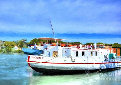 Photograph - Riverboats Of France by Mel Steinhauer