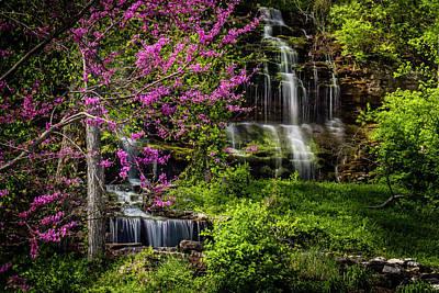 Rivercut Waterfall Art Print
