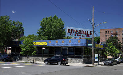 Staff Picks Judy Bernier - Riverdale Diner by DM Carpenter