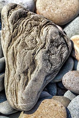 Photograph - Rivered Stone by Makk