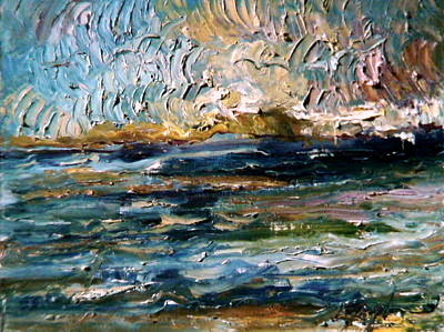 Painting - Riverflow by Lord Toph
