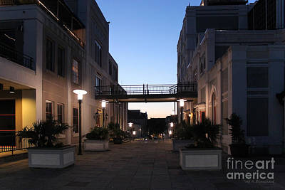 Photograph - Riverfront At Twilight by Todd Blanchard