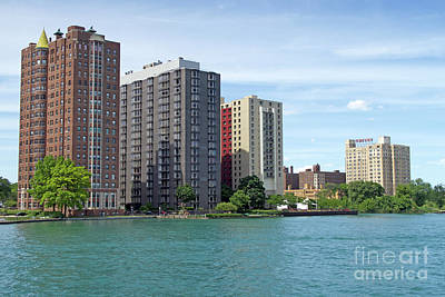 Photograph - Riverfront High-rises by Ann Horn