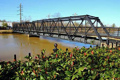 Photograph - Riverfront Park Bridge by Joseph C Hinson Photography