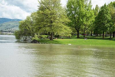Photograph - Riverfront Park by Tom Cochran