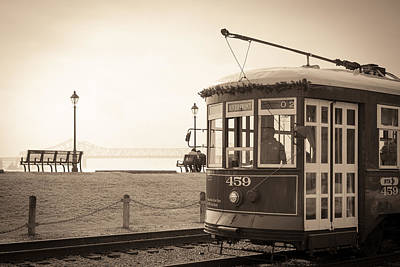 Photograph - Riverfront Streetcar II by Scott Rackers