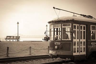 Photograph - Riverfront Streetcar II by Scott Rackers