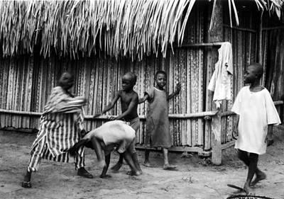 Photograph - Kids And Pranks by Muyiwa OSIFUYE